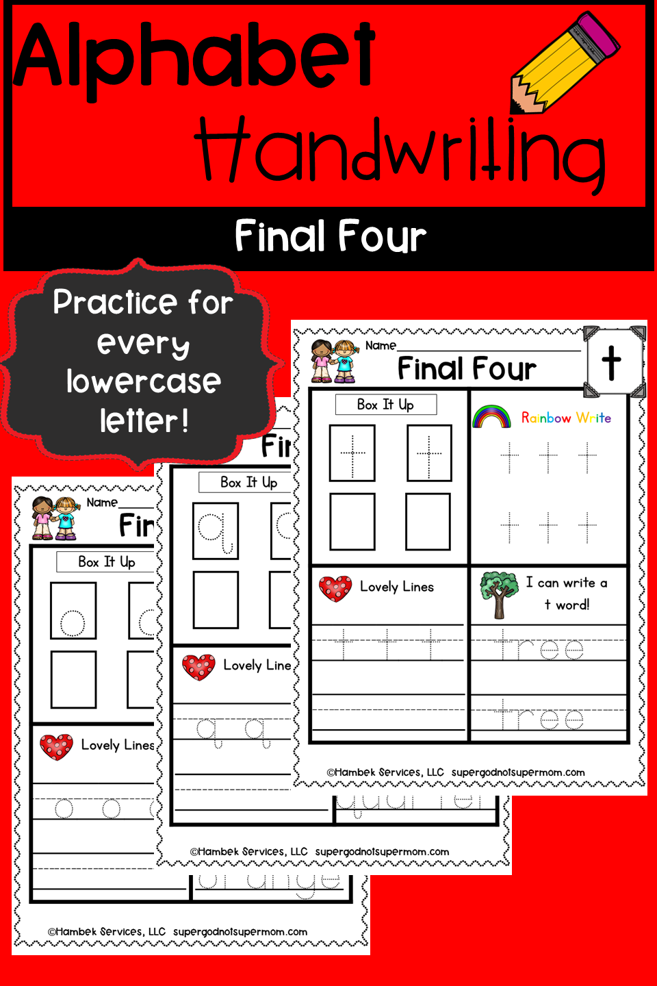 Alphabet Handwriting Practice Pages Final Four Lowercase Letters Learn Handwriting Alphabet Handwriting Practice Handwriting Alphabet [ 1440 x 960 Pixel ]