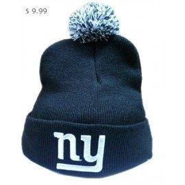 16ecf1817c5 NFL Knit Hats New York Giants Navy Blue Beanie Sale NYGKH06