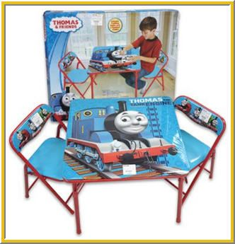 u003cpu003eThomas The Train table and chairs set is perfect furniture for toddlers especially  sc 1 st  Pinterest : thomas the train table set - pezcame.com