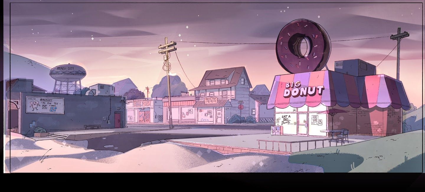 Craig Simmons Design Steven Universe Background Color