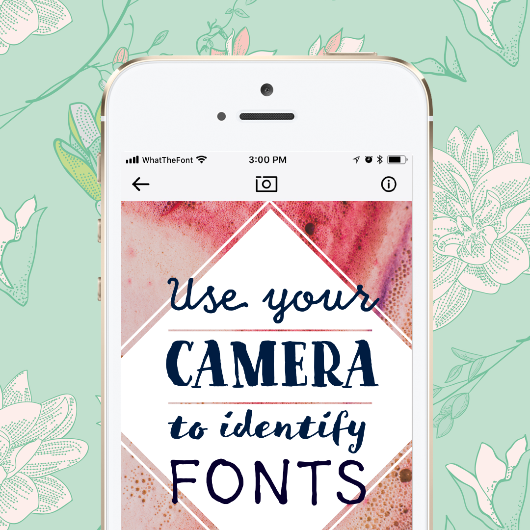 Get Our New App For Ios And Android And Identify Fonts Anywhere You