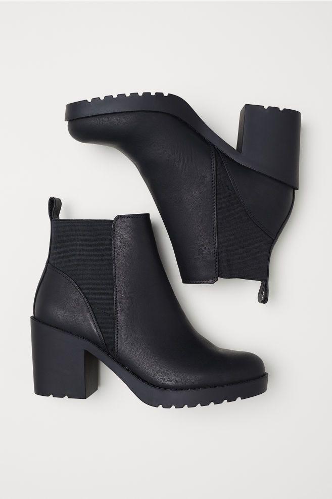 Ankle Boots - Black - Ladies   H\u0026M US