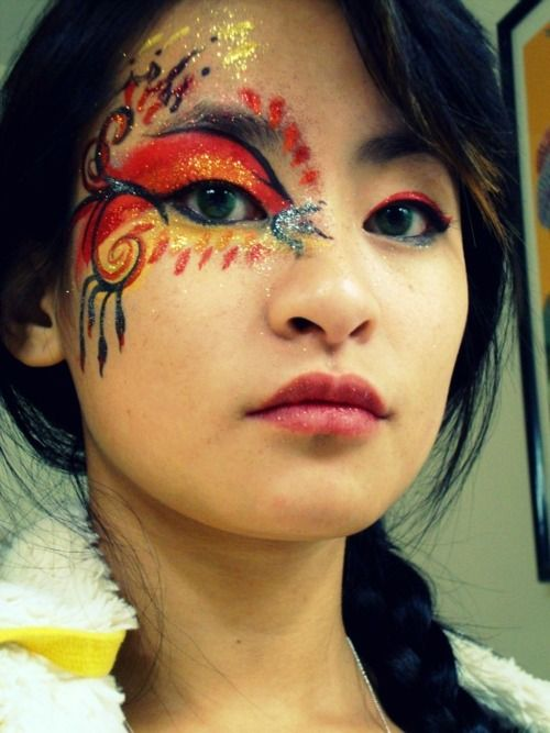 Pin by bella on Hunger Games / Divergent | Halloween face