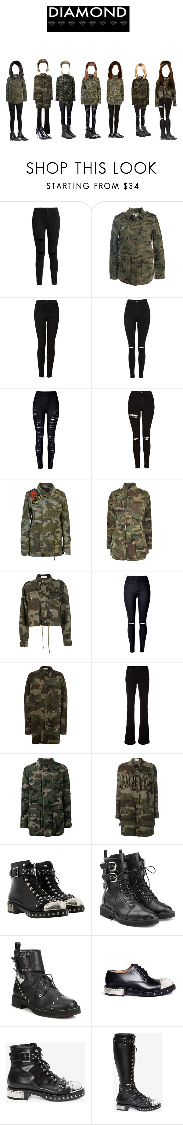 """Who's Next 2 : Diamond Project Team#2"" by ygentertaiment on Polyvore featuring mode, Sans Souci, Topshop, WithChic, Mr & Mrs Italy, Yves Saint Laurent, Faith Connexion, 7 For All Mankind, Valentino et Alexander McQueen"
