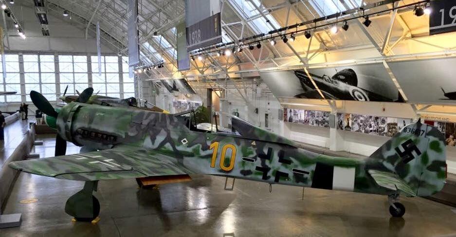Focke-Wulf Fw-190 D-13/R11 Dora, Würger (Shrike or Butcher Bird) Langnase (Long-Nose), Wk. Nr. 836017.