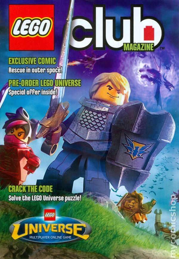 Free LEGO or LEGO Junior Club Magazines! - Sign up for a Free 2 year ...