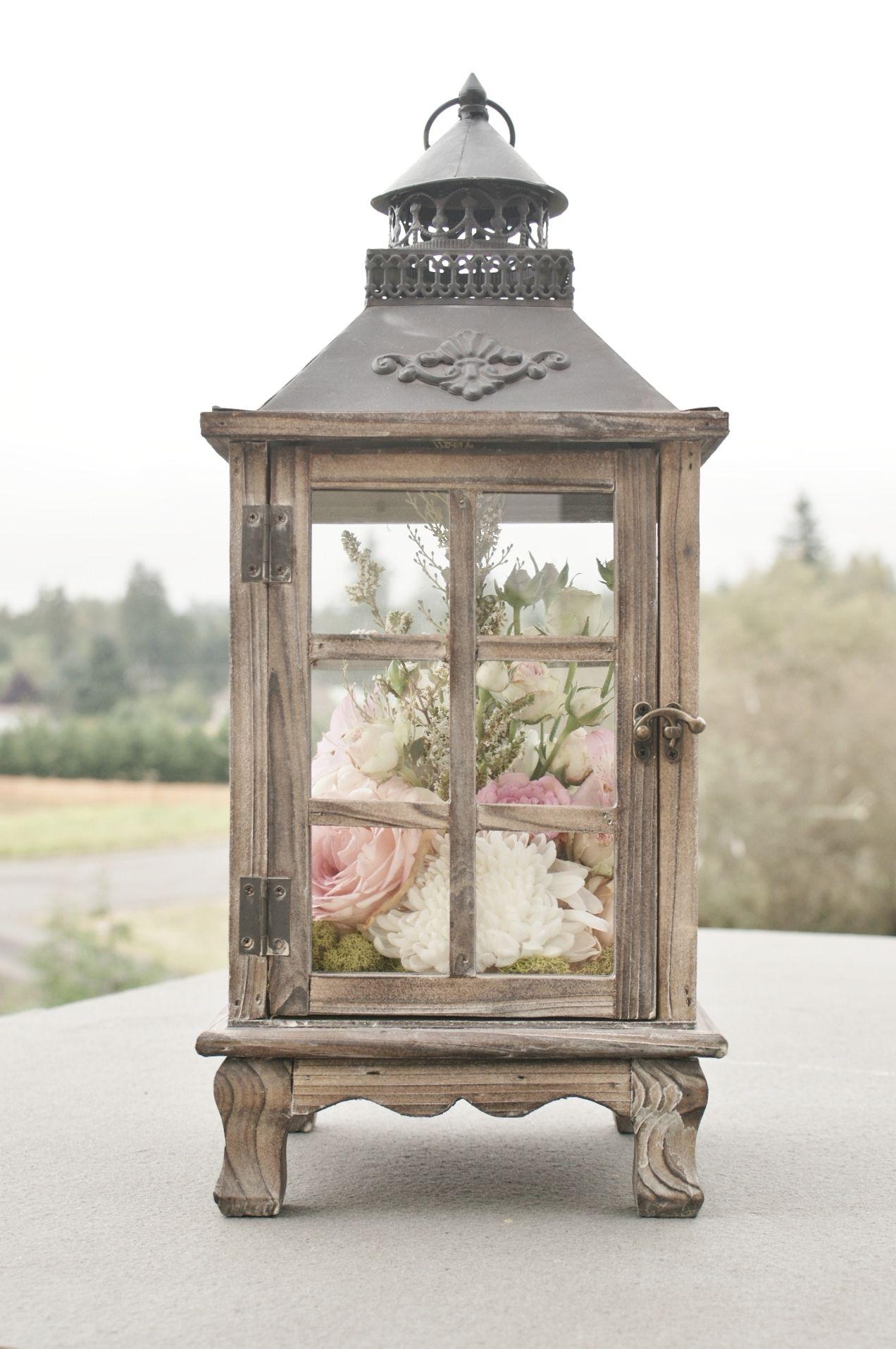 Rustic wood lantern | EVENTful Moments Rentals | Pinterest ...