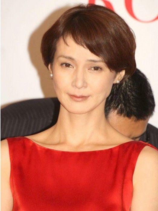 安田成美さんの髪型が可愛い 40代50代が真似したい 安田成美 髪型