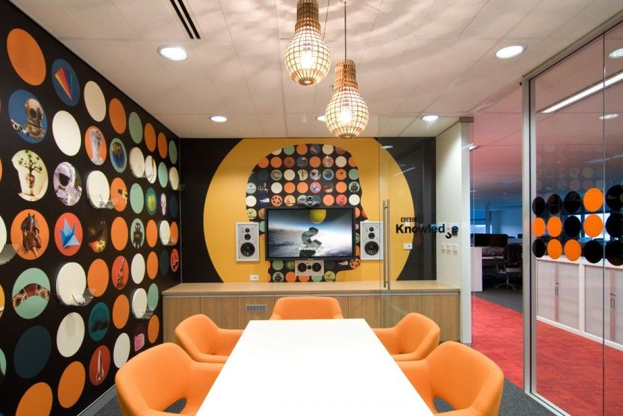 colorful office space interior design. Colorful Office Meeting Room Interior Design Ideas Space N