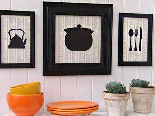 Manualidades y artesan as cuadros para cocina for Utilisima cocina