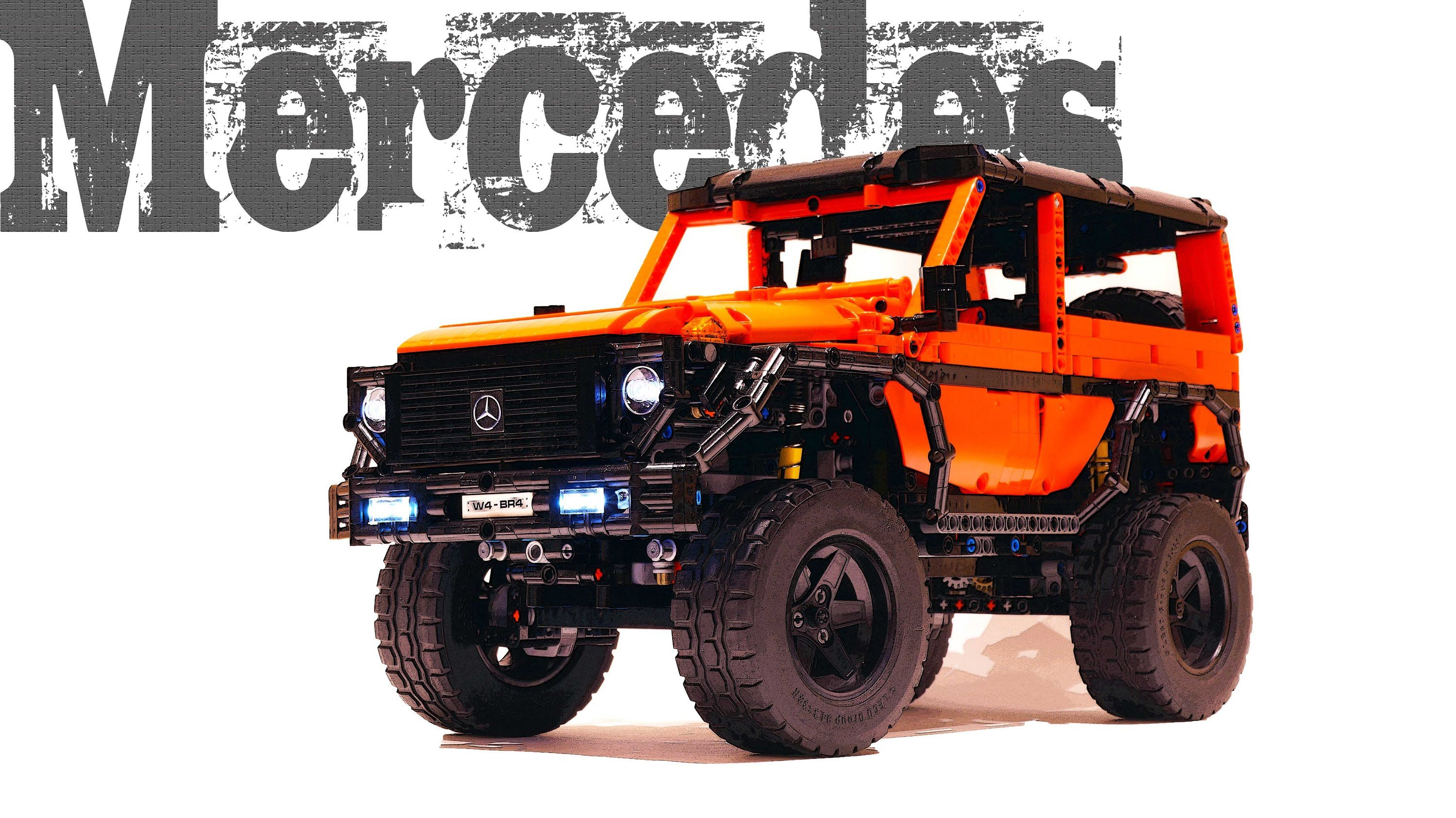 mercedes g class swb in lego technic lego mercedes g. Black Bedroom Furniture Sets. Home Design Ideas
