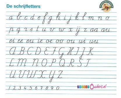 Geliefde werkbladen om getallen te leren schrijven - als school de methode  &UP24