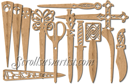 Scroll saw patterns handy items letter openers scrollsaw scroll saw patterns handy items letter openers spiritdancerdesigns Images