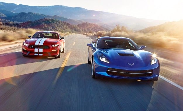 2016 Chevrolet Corvette Stingray Z51 Vs 2016 Ford Mustang Shelby