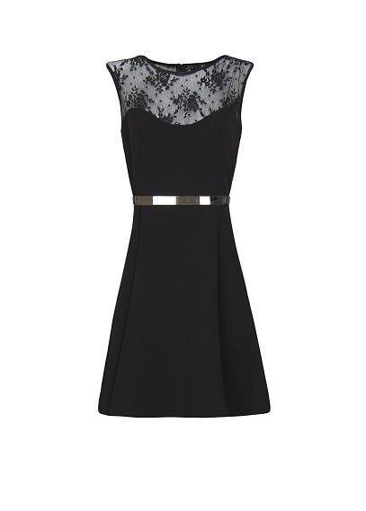 MANGO - A-line lace dress