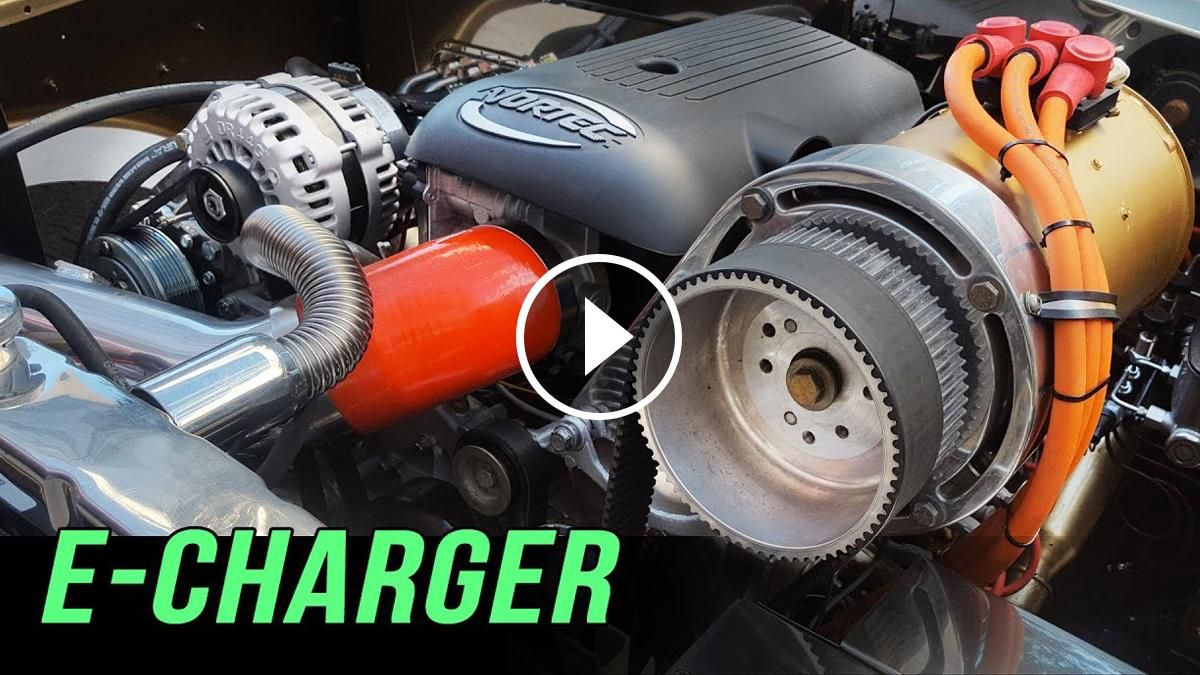 The E-Charger is a revolutionary new bolt-on technology that