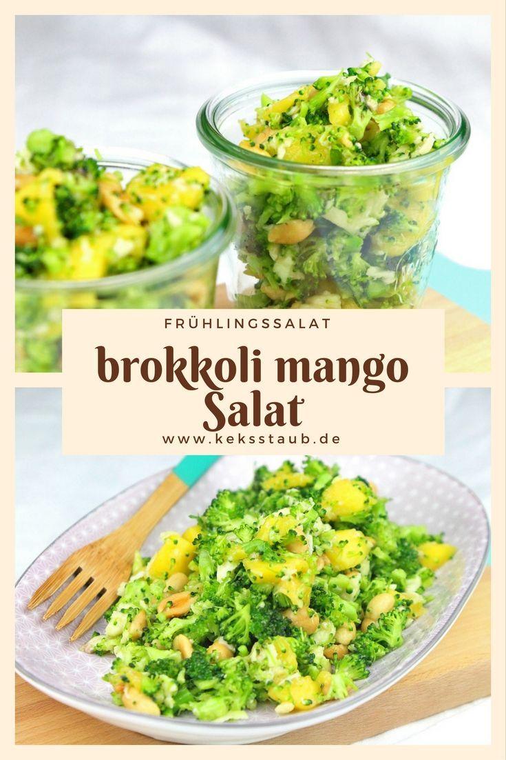 Brokkoli Mango Rohkostsalat Frühlingshafter Brokkoli Mango Salat - mit und ohne Thermomix AnleitungFrühlingshafter Brokkoli Mango Salat - mit und ohne Thermomix Anleitung