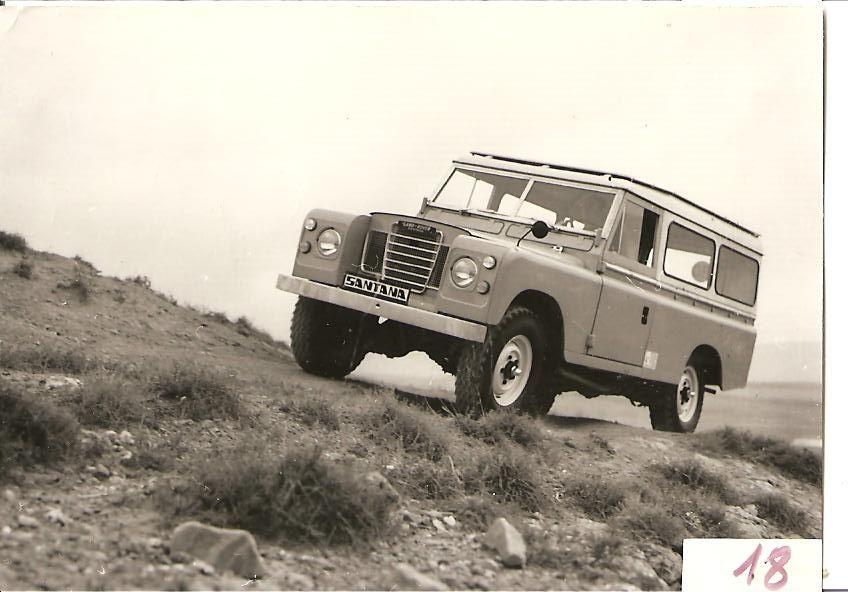 Land Rover Santana Series 109 Ambulancia
