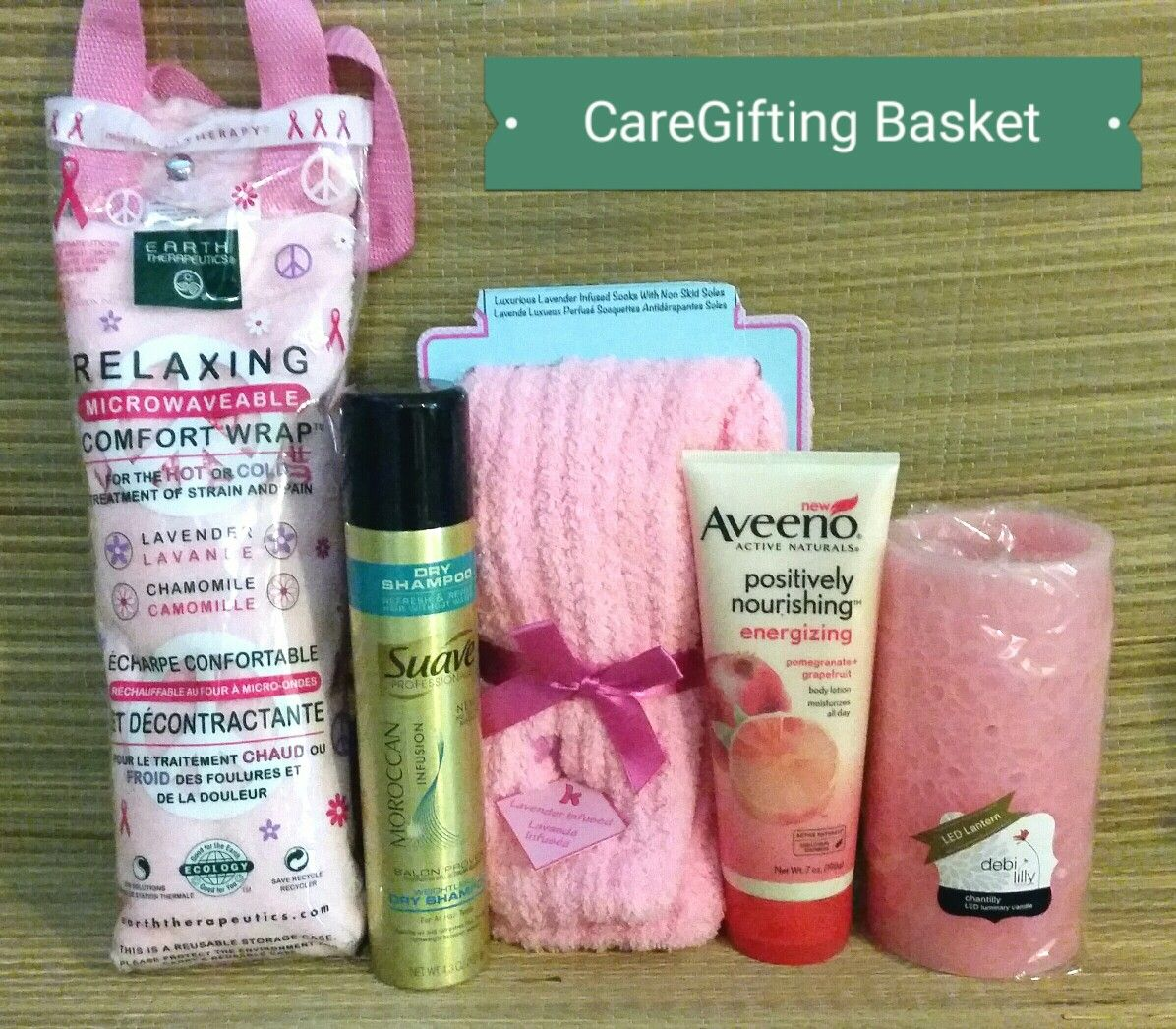 Care package for student, caregiver, nurse Care package