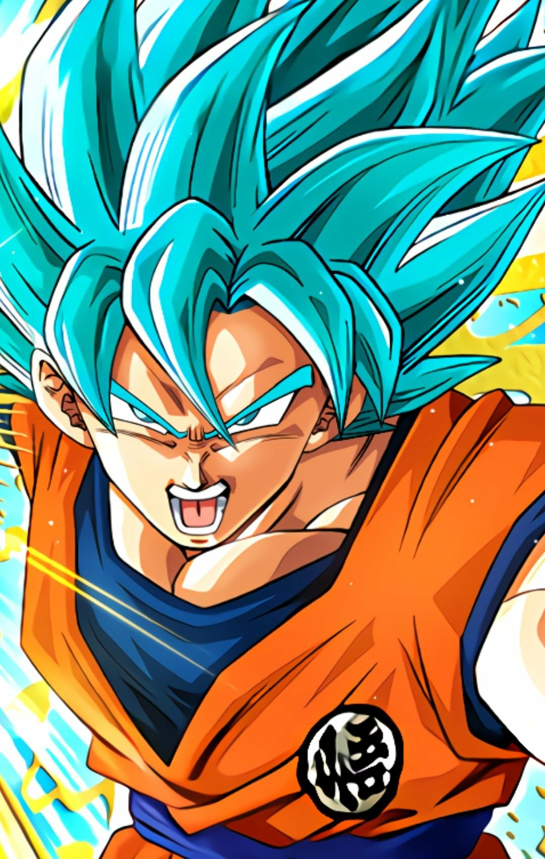 Ssb Goku Personajes De Dragon Ball Pantalla De Goku Dibujo De Goku