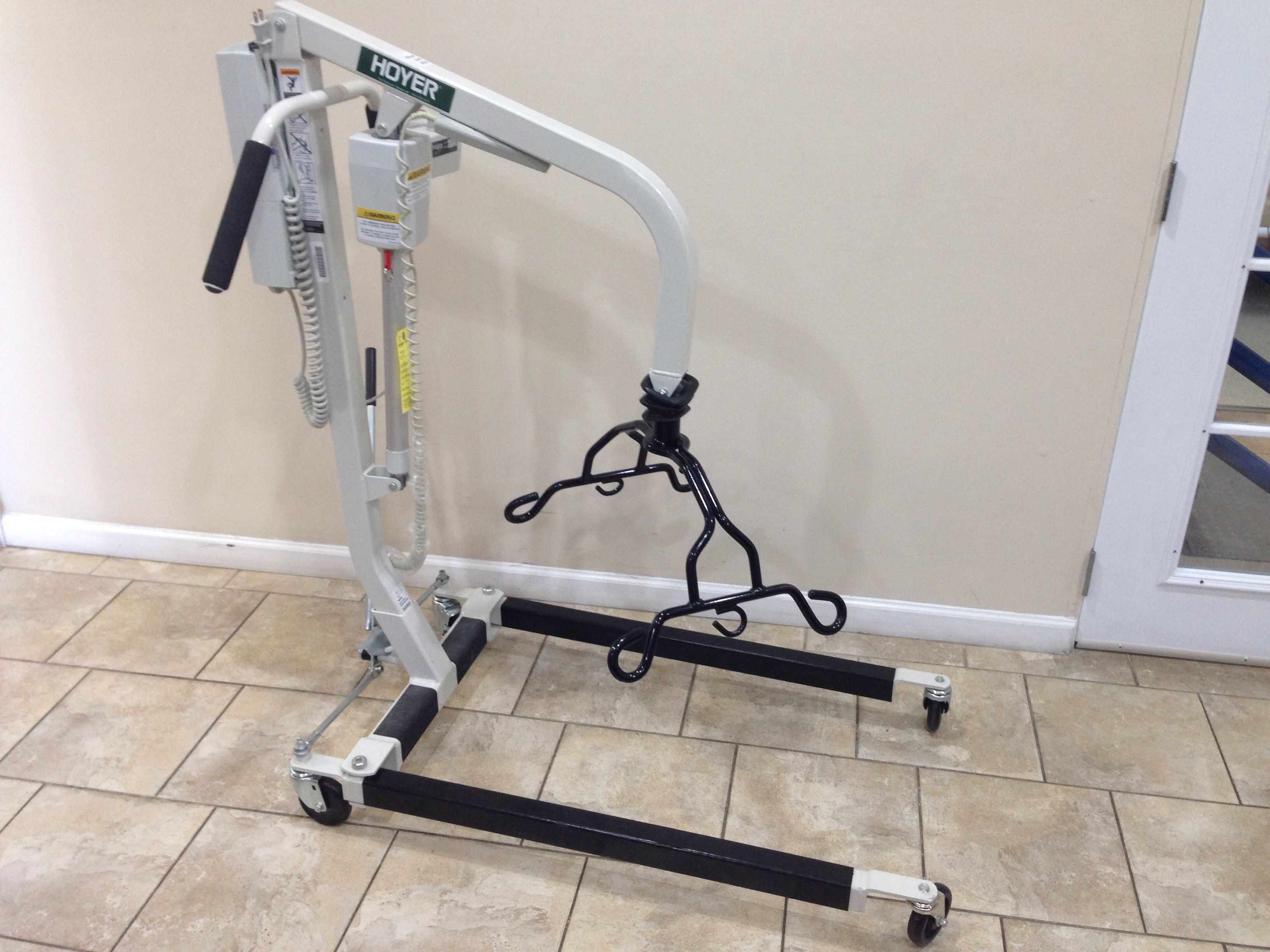 Hoyer Deluxe Power Lifter Electric Patient Lift HPL402 http://www ...