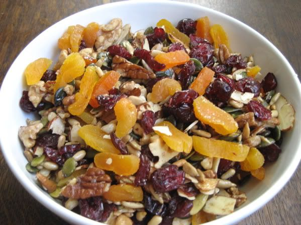 Sweet and Salty Primal Trail Mix
