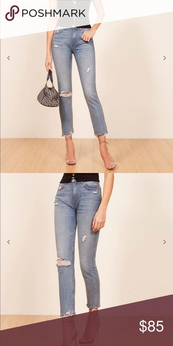 723a76d6ade Julia Crop High Cigarette Jean Brand New Never Worn! Reformation Jeans