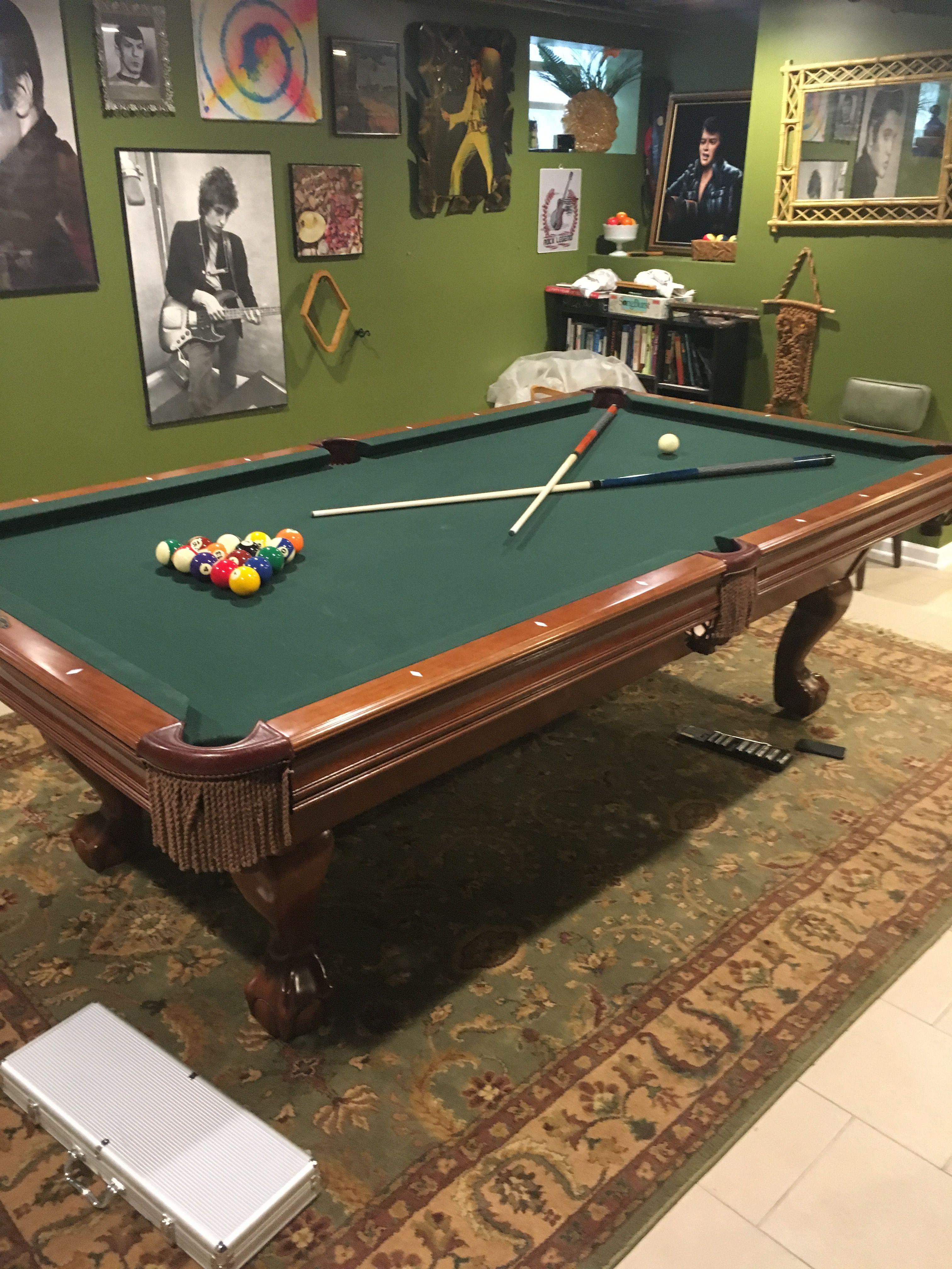Brunswick Billiards Brookstone Ball Claw Sold Used Pool - Brunswick brookstone pool table