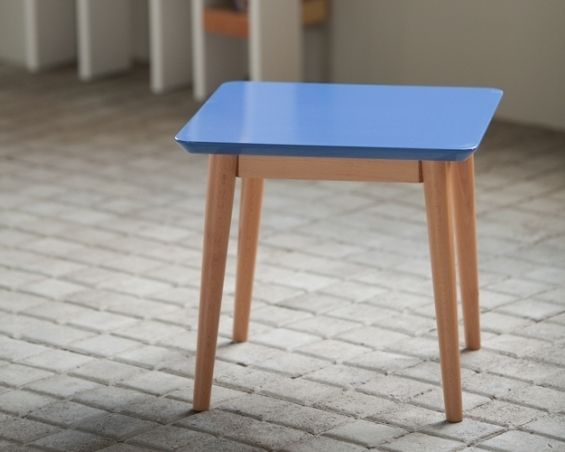 Table Basse M Laquee Bleu Idees Decoration Pour La Maison