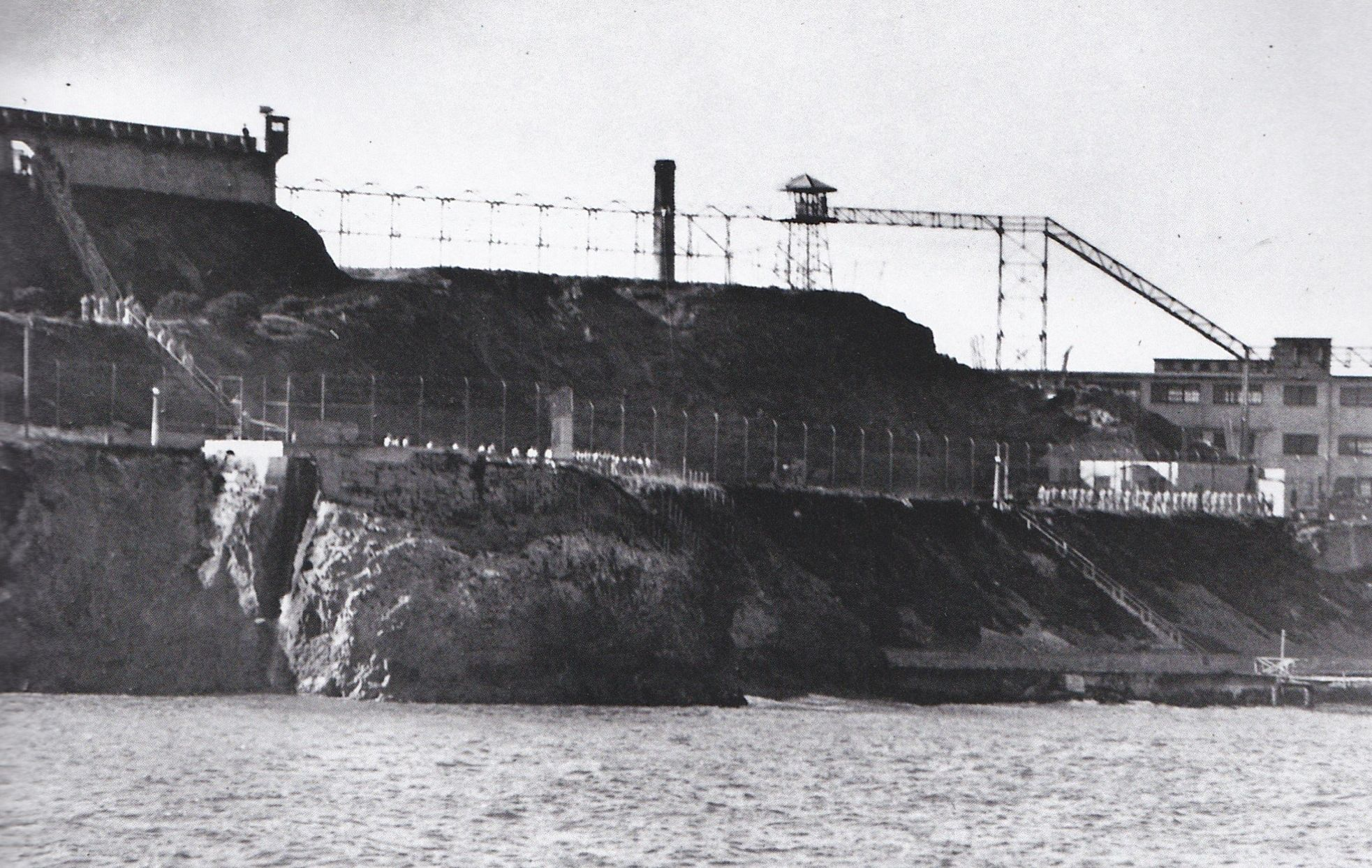 Among The Works Carried Out To Make Alcatraz Escape Proof Was The