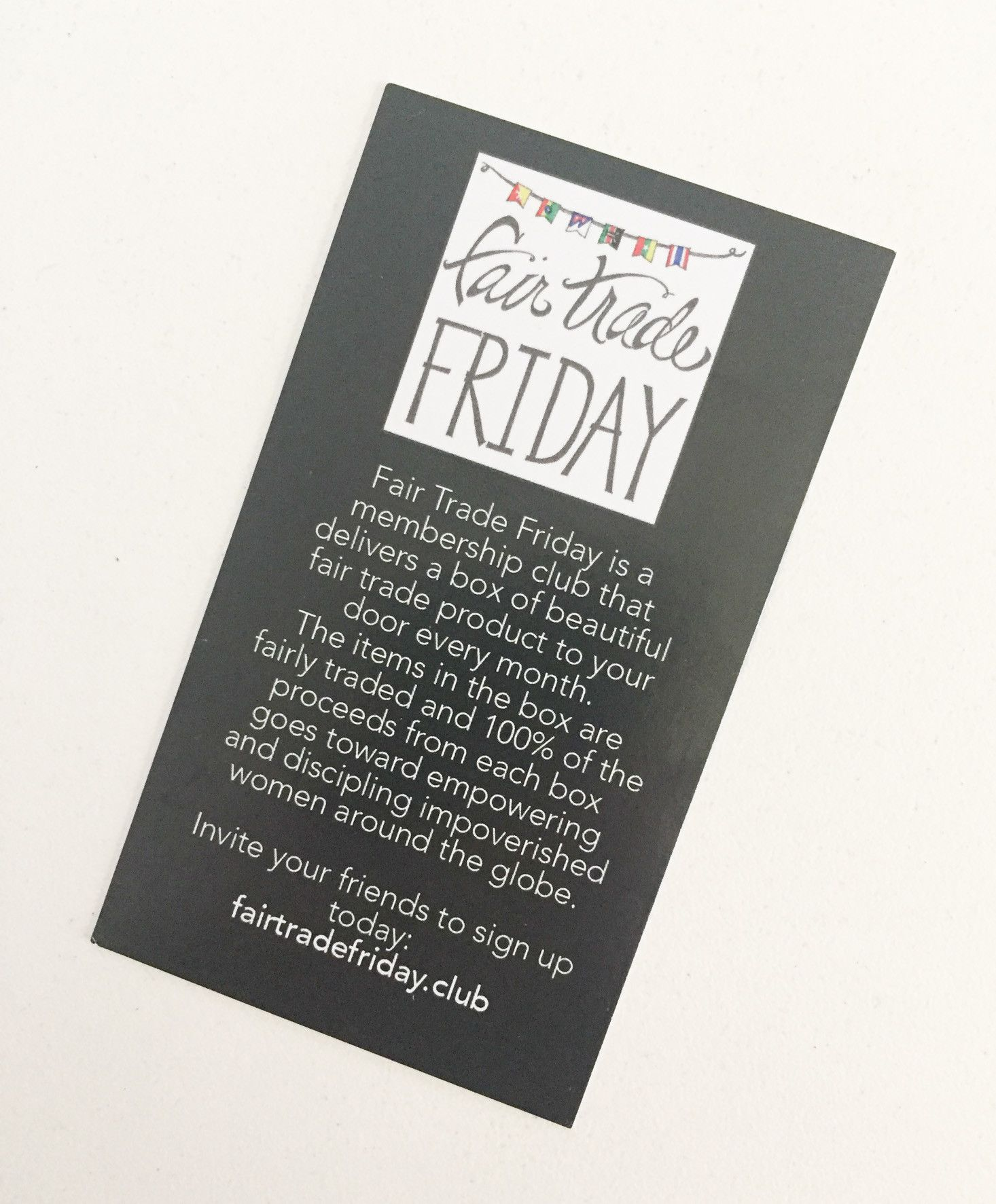Fair Trade Friday Bracelet Of The Month