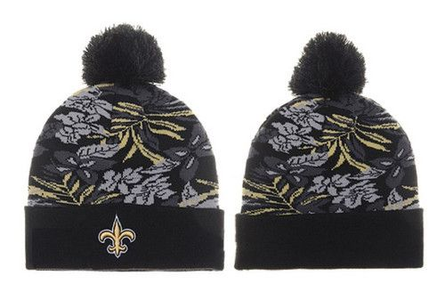 New Orleans Saints Winter Outdoor Sports Warm Knit Beanie Hat Pom ... cb9ef5a1f0a