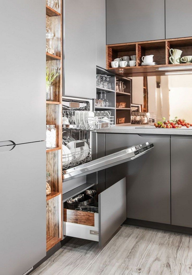 ✔ 44 best small kitchen design ideas for your tiny space 27 #smallkitchendesigns 44 Best Small Kitchen Design Ideas for Your Tiny Space #smallkitchendesign #smallkitchenideas #bestsmallkitchen : solnet-sy.com #smallkitchenremodeling