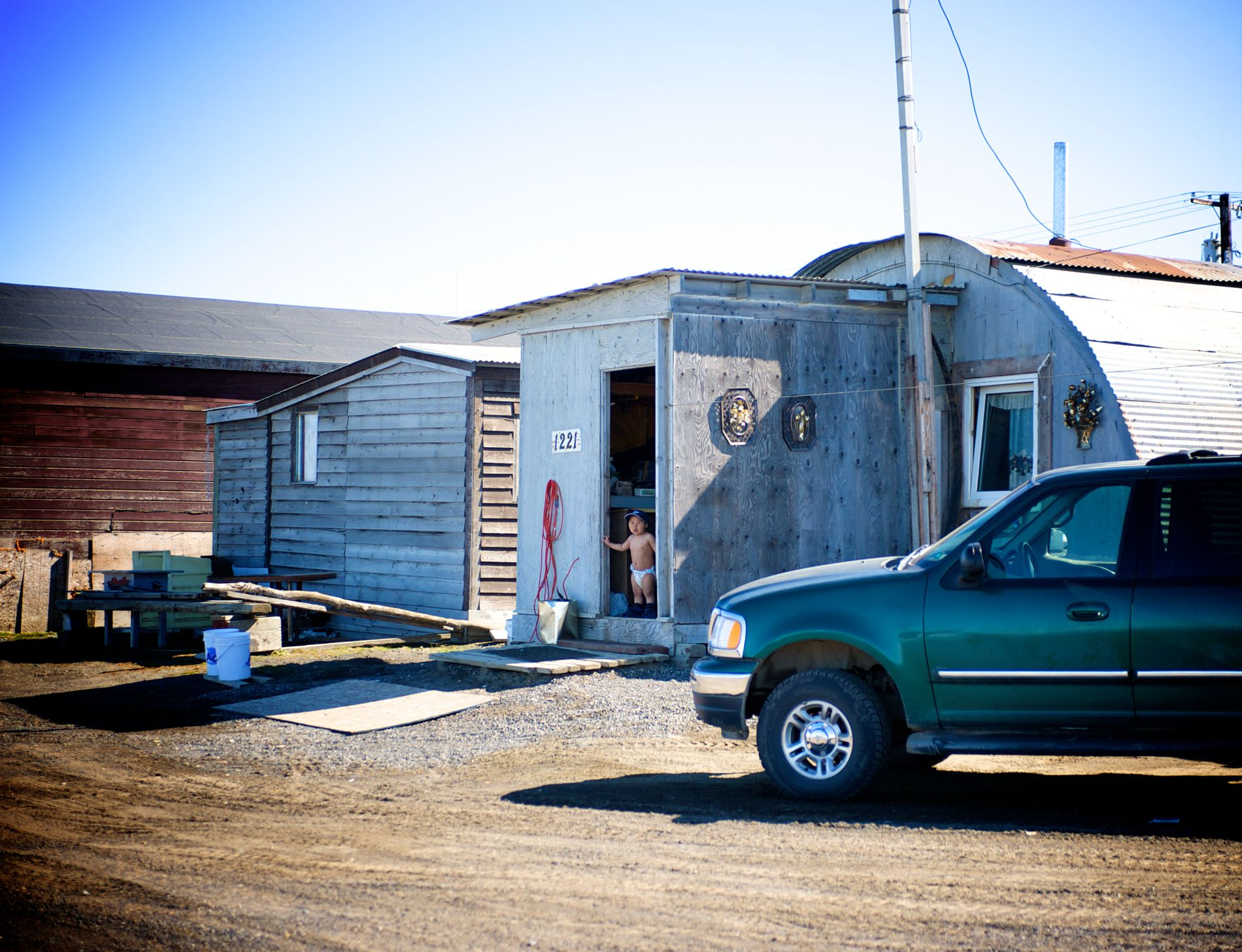 Photographer Pernille Westh   Barrow, Alaska, the northernmost city in the US. A moment from my ongoing project about the North · Get my 7 FREE basic photography tips - you need to know! http://pw5383.wixsite.com/free-photo-tips