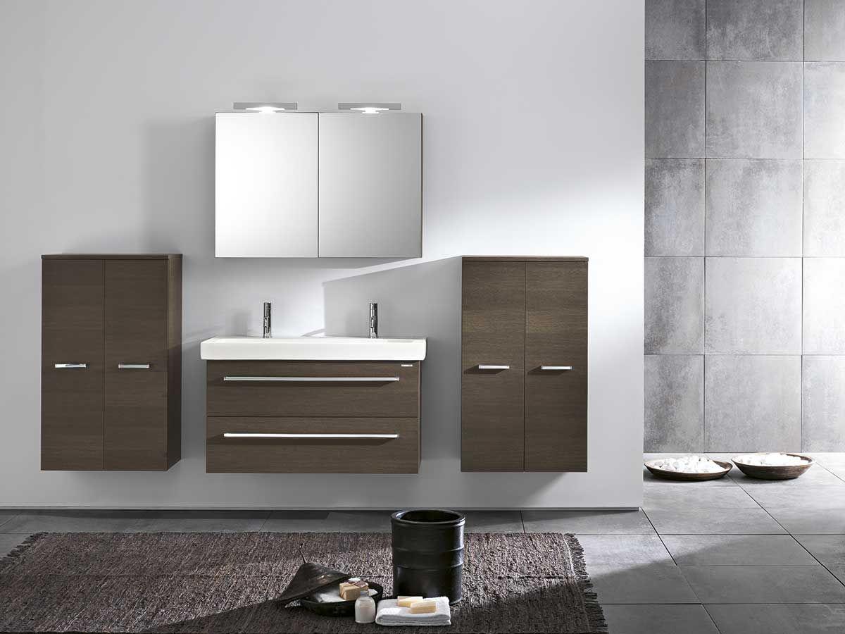 Bagno grande ~ Pareti bagno bagno moderno tinto di grigio