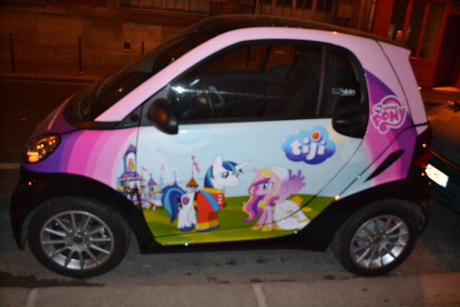 My little pony car | Cool cars | Pinterest | Pony and MLP