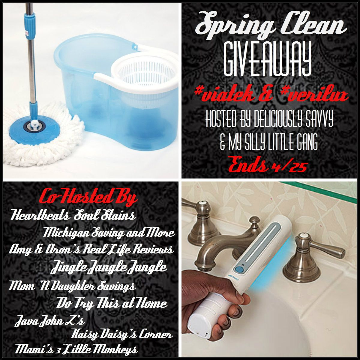 The Spring Clean Giveaway (2 Winners) 04/25 ~ Tales From A Southern Mom