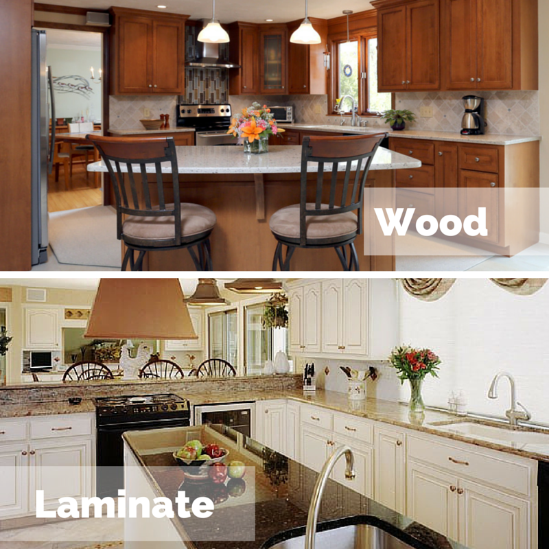 Laminate Kitchen Cabinets Refacing: Which Is Better For Cabinet Refacing: Laminate Or Wood