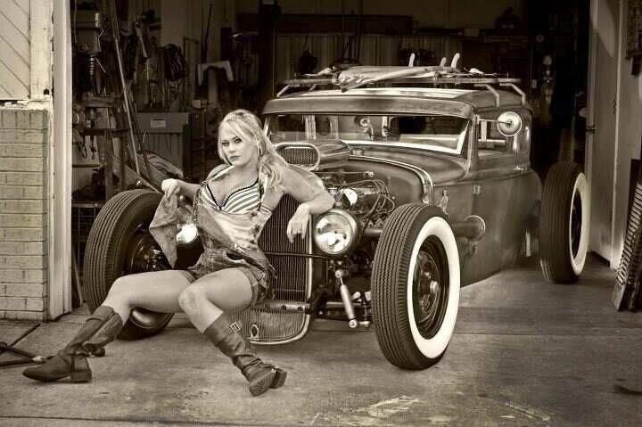 from Brody rat rods and nude pin up girls