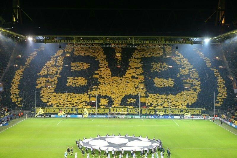 Signal Iduna Park Borussia Dortmund Dortmund Manchester City