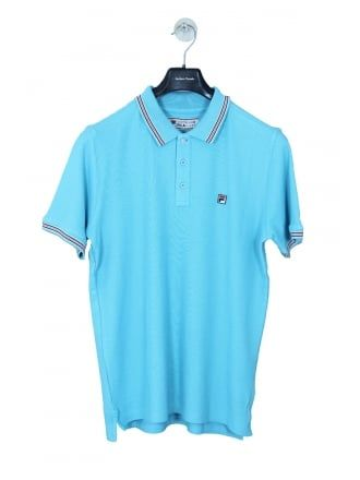 f633b4190 Fila Matcho 3 Polo in Azsure Blue - Northern Threads | NEW IN | Polo ...