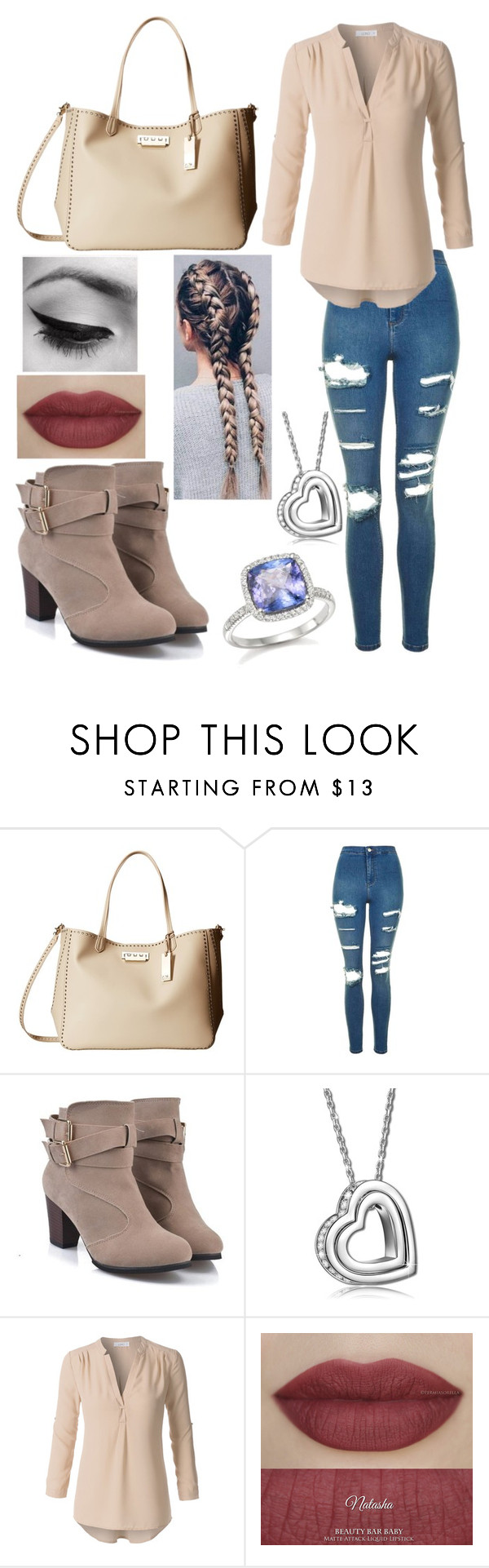 """Design677"" by charlottesheridan ❤ liked on Polyvore featuring ZAC Zac Posen, Topshop and Bloomingdale's"
