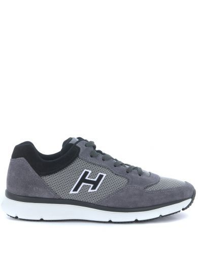 HOGAN Sneaker Hogan H254 Traditional 20.15 In Grey Suede. #hogan #shoes # sneakers