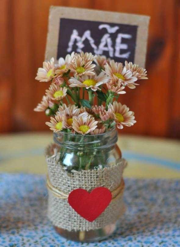 Vasos decorados para o Dia das Mães 008