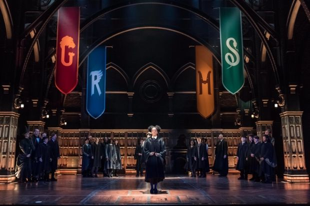 The set of Harry Potter and the Cursed Child