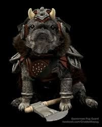 Gamorian pooch guard. I'm shake'n in my boots.