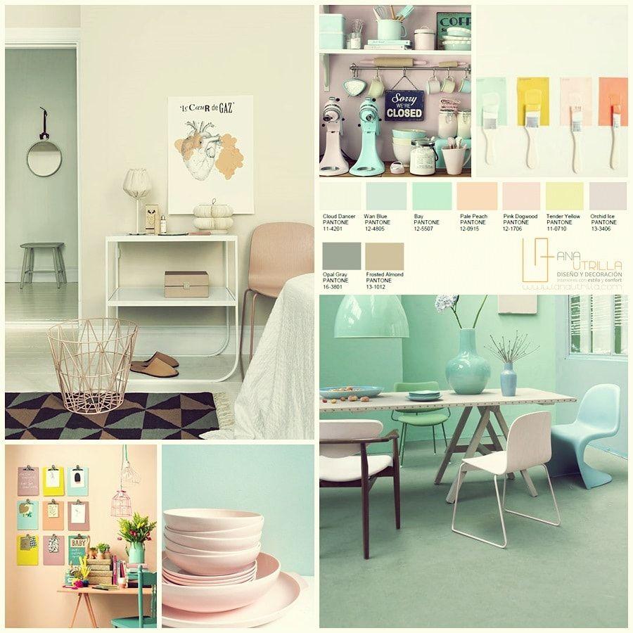 Diseño Y Decoración De Interiores Tendencia Guía Los Colores Pantone2016 Por Www Anautrilla Info