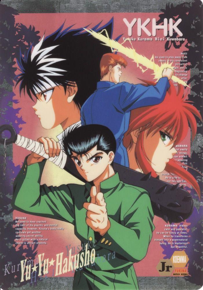 Yu Hakusho Paranormal Image Boards Greaser Girl Death Heaven