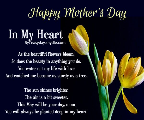 happy mothers day poems with images inspirational quotes happy