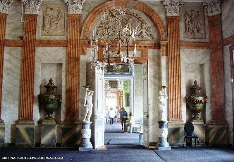 Gallery, Kuskovo Palace.